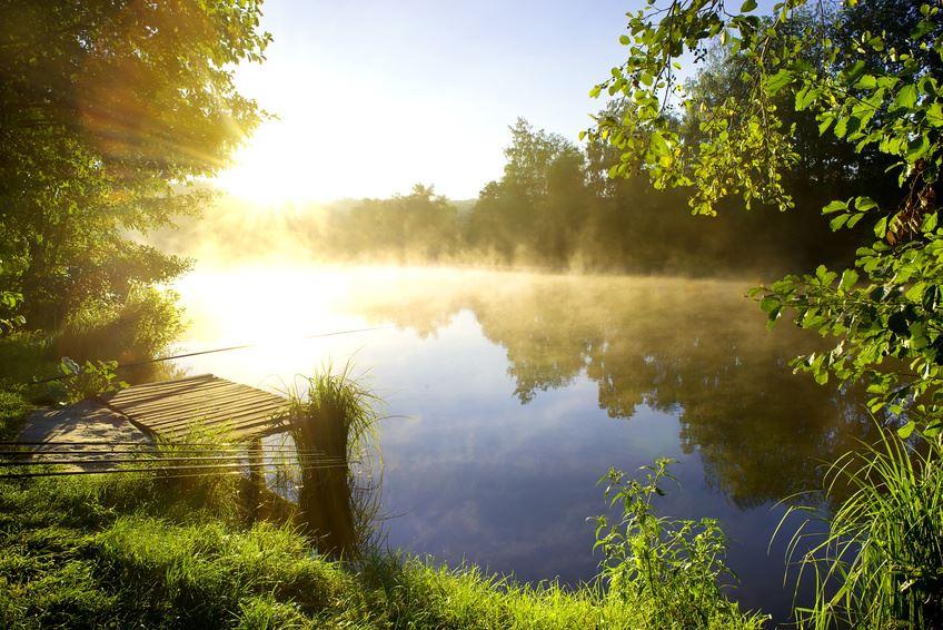Ein See im Havelland